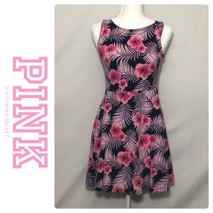 PINK VS Hibiscus Floral Dress